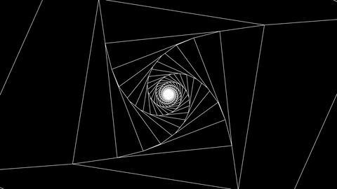 3 D cube b white 1 CG動画
