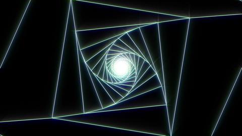 3 D cube b white 2 Animation