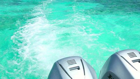 Azure water Footage