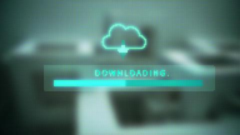 Download Screen Progress Bar stock footage