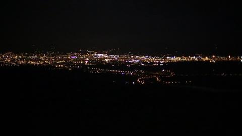 Romania Cluj Night 1 stock footage