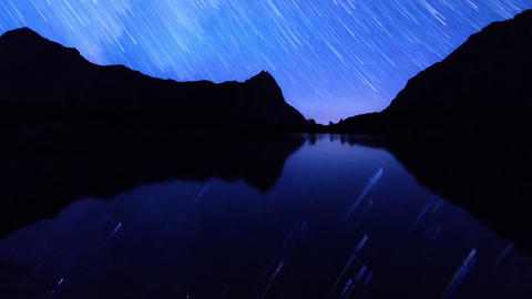 Night becomes day. Track. Time Lapse. 1280x720 Footage