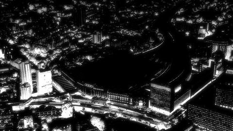 London Glow 2 stock footage
