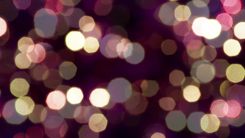 Sparkling lights on a dark background Footage