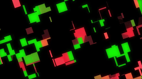 Squared 3 stock footage