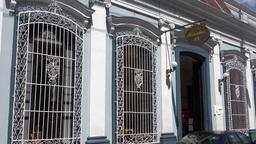 Santa Rosalia Restaurant In Santa Clara, Cuba stock footage