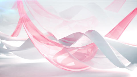 Modern Abstract Wave background. Loopable Acción en vivo