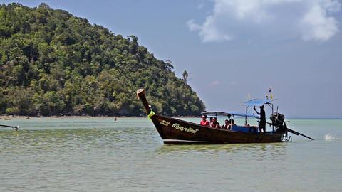 thailand. phi phi islands seascape Footage