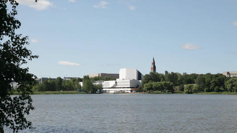 Finlandia Hall in Helsinki 3 Footage