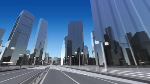 City 6B HD Animation