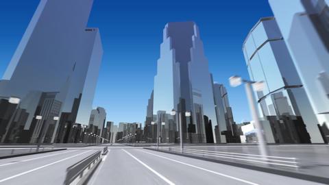 City 6B HD Stock Video Footage