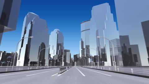 City 6C HD Stock Video Footage