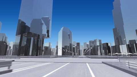 City 6E2 HD Stock Video Footage