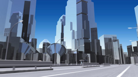 City 6J1 HD Animation