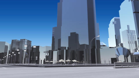 City 6J1 HD Stock Video Footage