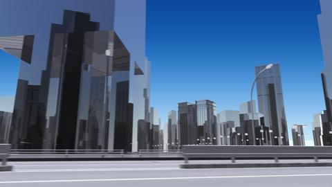 City 6J1 HD Stock Video Footage
