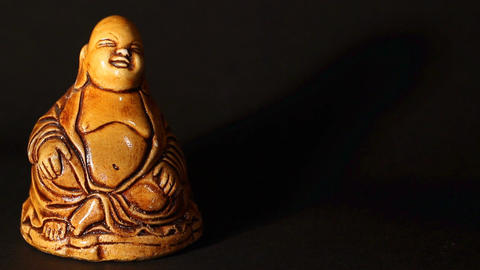 Buddha Statue ART 01 pan Stock Video Footage