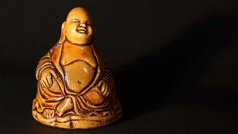 Buddha Statue ART 01 pan Footage