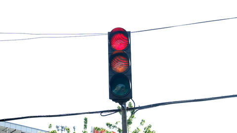Traffic Light Stock Video Footage