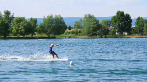 Wakeboard 02 3 in 1 Stock Video Footage