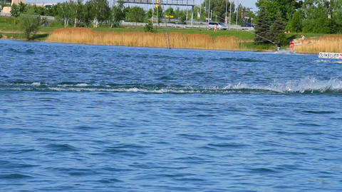 Wakeboard 04 3 in 1 Stock Video Footage