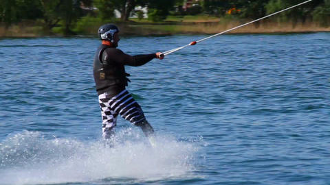 Wakeboard 06 Stock Video Footage