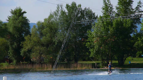Wakeboard 08 Stock Video Footage