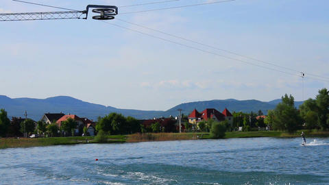 Wakeboard 10 Stock Video Footage