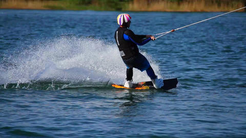Wakeboard 12 3 in 1 Stock Video Footage