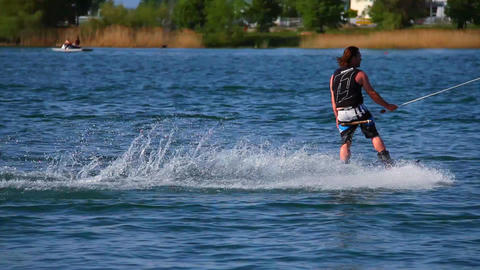Wakeboard 14 3 in 1 Stock Video Footage