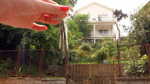 passing keys Stock Video Footage