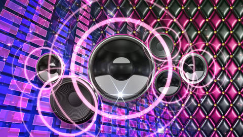 Disco Space ESpjC4 HD Stock Video Footage