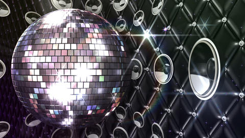 Disco Space MSpB2 HD Stock Video Footage