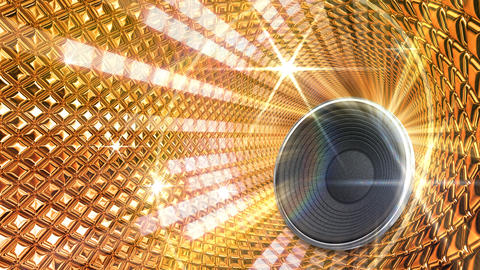 Disco Space TSpG1 HD Stock Video Footage