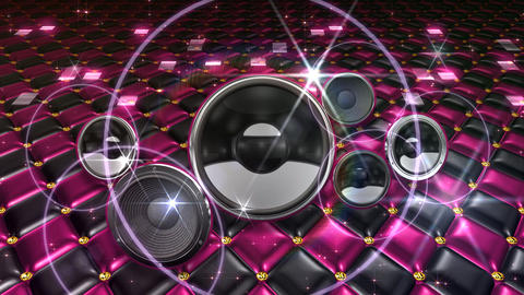 Disco Space USpjE2 HD Stock Video Footage