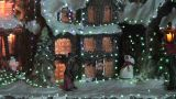 Christmas Tree Illumination, Close-up stock footage