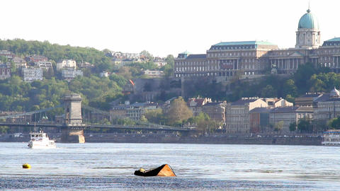 Budapest Hungary Castle of Buda Stock Video Footage