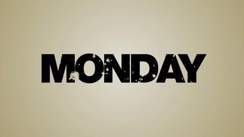Weekdays Loop HD Stock Video Footage