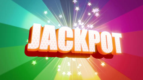 Jackpot Graphic Loop HD Animation
