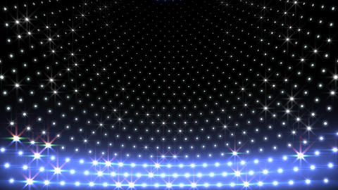 LED Disco Wall CMb1 Stock Video Footage