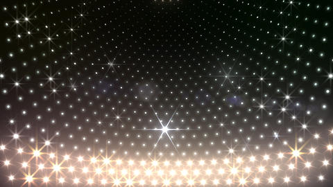LED Disco Wall CMb3 Stock Video Footage