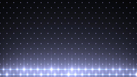 LED Disco Wall FFb 2 Stock Video Footage