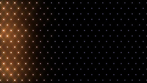LED Disco Wall FFb 4 Stock Video Footage