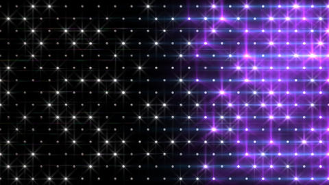 LED Disco Wall FFc 6 Stock Video Footage