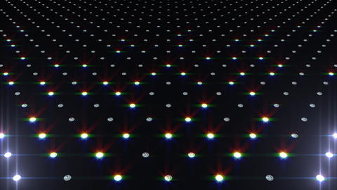 LED Disco Wall FMb2 Stock Video Footage