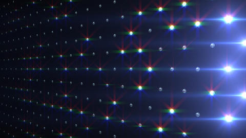 LED Disco Wall FNb1 Stock Video Footage