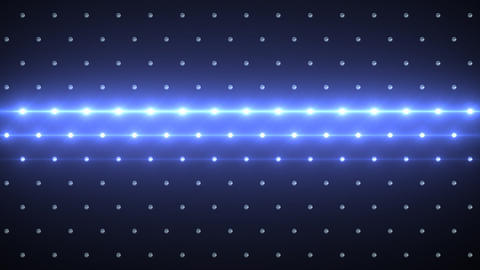 LED Disco Wall FPa1 Stock Video Footage