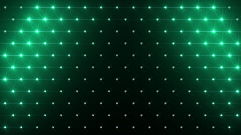 LED Disco Wall FPa5 Stock Video Footage