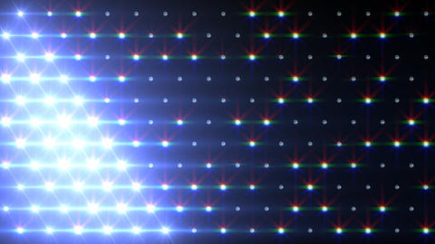 LED Disco Wall FPb1 Stock Video Footage
