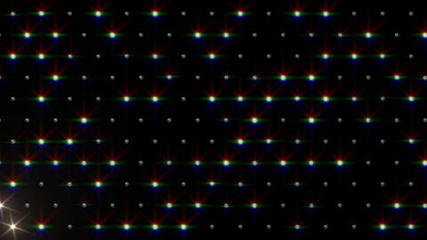 LED Disco Wall FPb3, Stock Animation